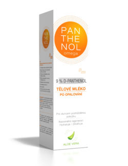 Panthenol Omega Tělové máslo aloe vera 9 % 250 ml