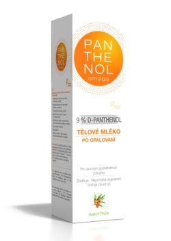 Panthenol Omega Tělové máslo rakytník 9 % 250 ml