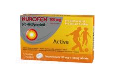 Nurofen - NUROFEN PRO DĚTI ACTIVE 100MG perorální TBL DIS 12