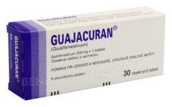 Guajacuran - GUAJACURAN 200MG obalené tablety 30