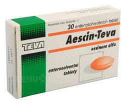 Aescin - AESCIN-TEVA 20MG enterosolventní tableta 30