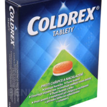 Coldrex - COLDREX 500MG/25MG/5MG/20MG/30MG neobalené tablety 12