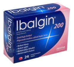 Ibalgin - IBALGIN 200 200MG potahované tablety 24