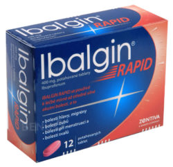 Ibalgin - IBALGIN RAPID 400MG potahované tablety 12 I