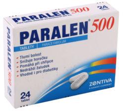 Paralen - Paralen 500 por.tbl.nob.24x500mg