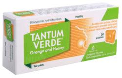 Tantum Verde - TANTUM VERDE ORANGE AND HONEY 3MG pastilka 20
