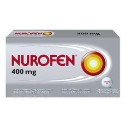 Nurofen - NUROFEN 400MG obalené tablety 24