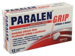 Paralen - Paralen GRIP Chřipka a bolest por.tablet flm.24