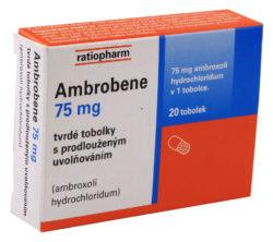 Ambrobene - AMBROBENE 75MG tvrdé tobolky s prodlouženým uvolňováním 20
