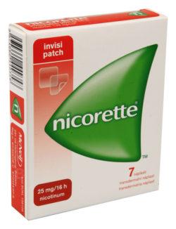 Nicorette - NICORETTE INVISIPATCH 25MG/16H transdermální EMP 7