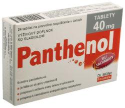 Panthenol - Panthenol tablety 40mg tbl.24
