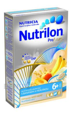 Nutrilon - Nutrilon kaše Profutura banán meruňka 225g 6M