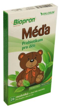 Valosun - Walmark Biopron MÉĎA 20ks probiotických medvídků