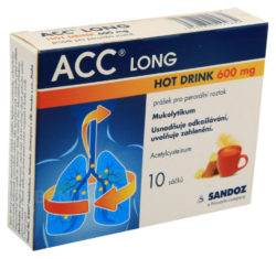 ACC - ACC LONG HOT DRINK 600MG perorální PLV SOL 10