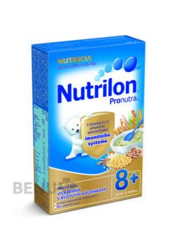 Nutrilon - Nutrilon kaše Pronutra vícezr. s rýž.křup. 225g 8M