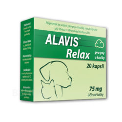ALAVIS - ALAVIS RELAX pro psy a kočky cps.20