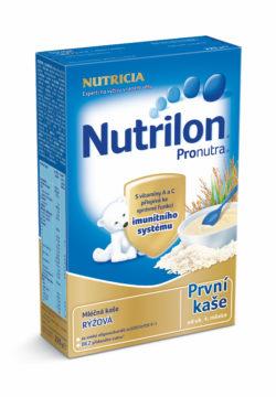 Nutrilon Pronutra První kaše mléčná rýžová 225g