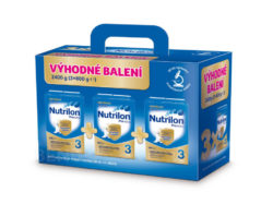 Nutrilon - Nutrilon 3 Pronutra 3x800g Výhodné balení