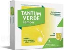 Tantum Verde - TANTUM VERDE LEMON 3MG pastilka 40