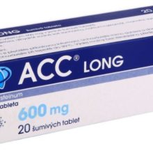 ACC - ACC LONG 600MG šumivá tableta 20