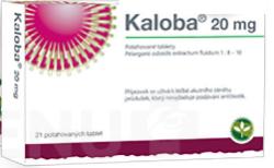 Kaloba - KALOBA 20 MG POTAHOVANÉ TABLETY potahované tablety 21