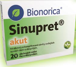 Sinupret - SINUPRET AKUT obalené tablety 20