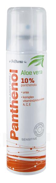 MedPharma - MedPharma Panthenol 10% Sensit.chladivý sprej150ml