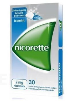 Nicorette - NICORETTE ICEMINT GUM 2MG léčivé žvýkací gumy 30