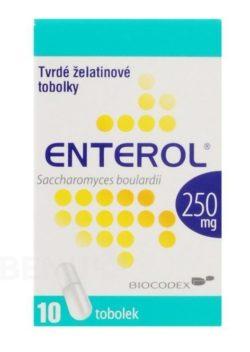 Enterol - ENTEROL 250MG tvrdé tobolky 10