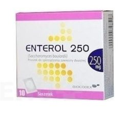 Enterol - ENTEROL 250MG perorální PLV SUS 10