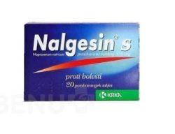 Nalgesin - NALGESIN S 275MG potahované tablety 20X1 II