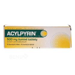 Acylpyrin - ACYLPYRIN 500MG šumivá tableta 15