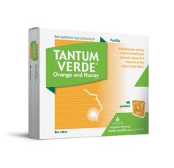 Tantum verde Orange and Honey 40 pastilek
