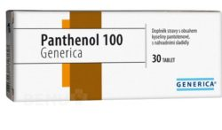 Generica - Panthenol 100 Generica tbl.30