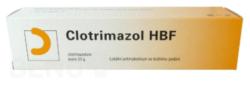 Clotrimazol - CLOTRIMAZOL HBF 10MG/G krém 1X50G
