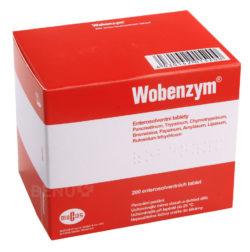 Wobenzym - WOBENZYM enterosolventní tableta 200 II