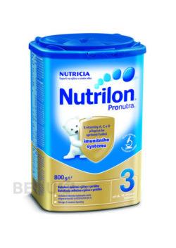 Nutrilon - Nutrilon 3 Pronutra 800g - II. jakost