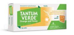 Tantum Verde - TANTUM VERDE ORANGE AND HONEY 3MG pastilka 40