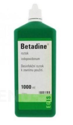 Betadine - BETADINE 100MG/ML kožní podání SOL 1000ML