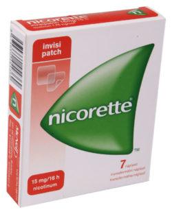Nicorette - NICORETTE INVISIPATCH 15MG/16H transdermální EMP 7