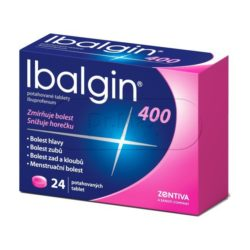 Ibalgin 400mg 24 tablet