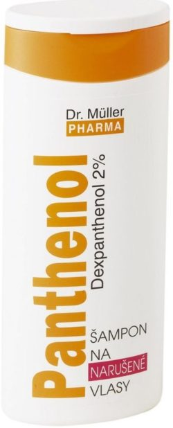 Dr.Müller Panthenol šampon na narušené vlasy 250ml