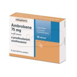 Ambrobene 75 mg 20 kapslí