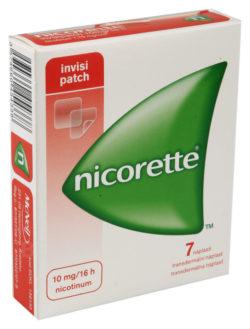 Nicorette - NICORETTE INVISIPATCH 10MG/16H transdermální EMP 7