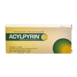 ACYLPYRIN tablety 10 x 500 mg