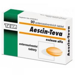 AESCIN-TEVA por. tablety ent. 90X20MG