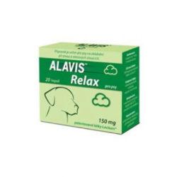 ALAVIS Relax pro psy 150 mg 80 kapslí