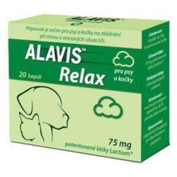 ALAVIS Relax pro psy a kočky 75 mg 40 kapslí
