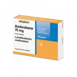 AMBROBENE 75 mg 20x75 mg Tobolky