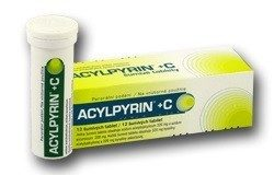 Acylpyrin + C perorální tablety šumivé 12